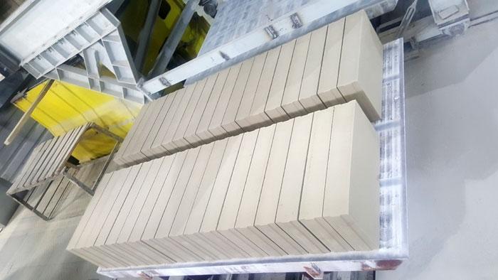 Завод «КЗСМ» запустил линию по производству пазогребневых плит